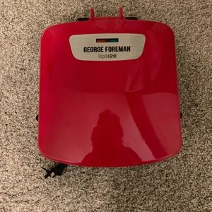 New never used George Foreman rapid grill